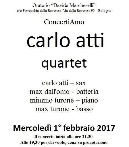 Concertiamo 1feb2017